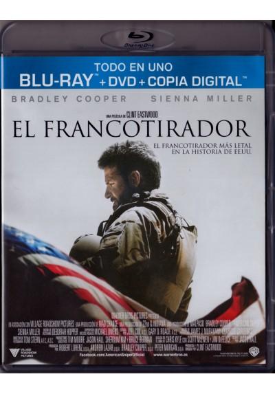 El Francotirador (Blu-Ray + Dvd + Copia Digital) (American Sniper)