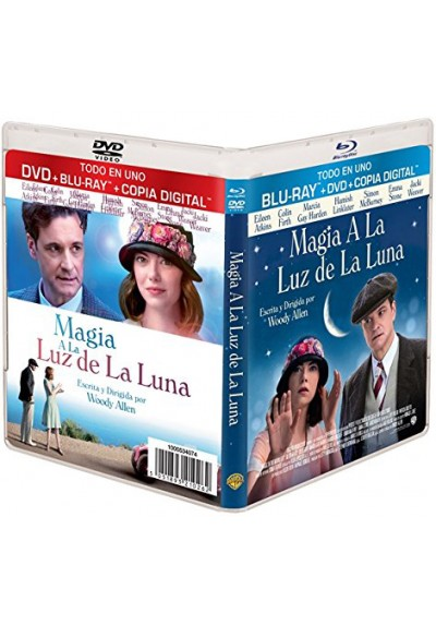 Magia A La Luz De La Luna (Blu-Ray + Dvd + Copia Digital) (Magic In The Moonlight)