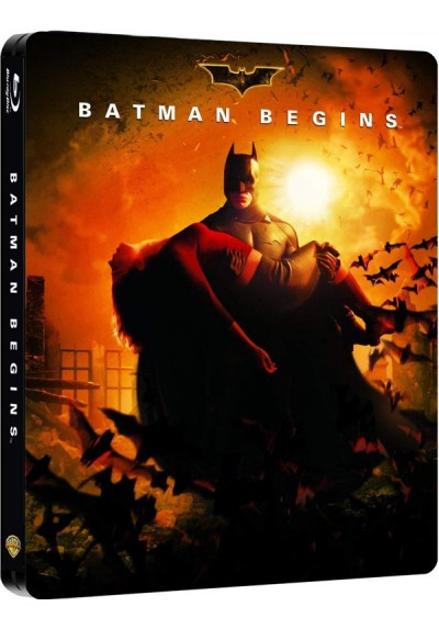 Batman Begins (Blu-Ray) (Ed. Metálica)