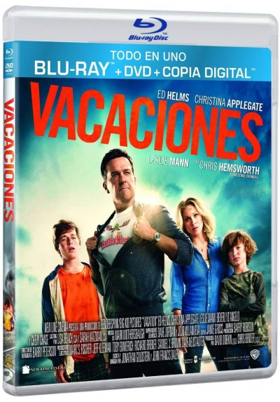 Vacaciones (Blu-Ray + Dvd + Copia Digital) (Vacation)
