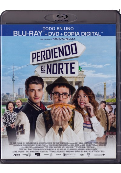 Perdiendo El Norte (Blu-Ray + Dvd + Copia Digital)