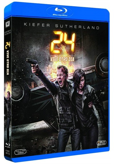 24: Vive Otro Día (Blu-Ray) (24: Live Another Day)