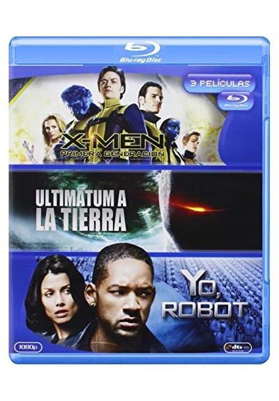 Pack X-Men : Primera Generación / Ultimátum A La Tierra (2008) / Yo, Robot