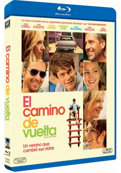 El Camino De Vuelta (Blu-Ray) (The Way Way Back)