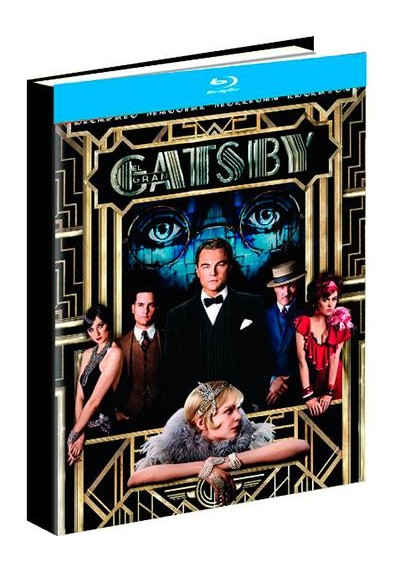El Gran Gatsby (Blu-Ray) (Ed. Libro) (The Great Gatsby)
