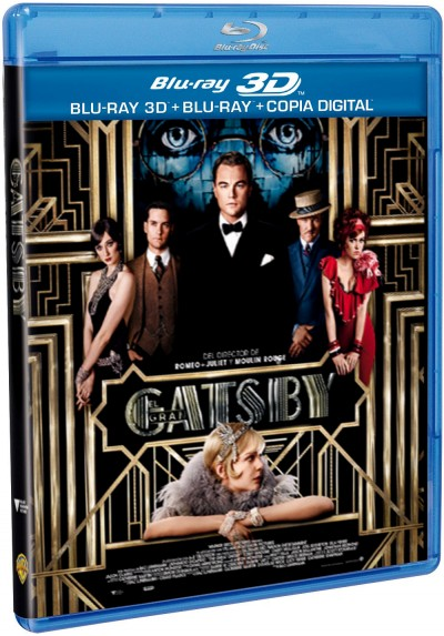 El Gran Gatsby (2013) (Blu-Ray 3d+ Blu-Ray + Copia Digital) (The Great Gatsby)