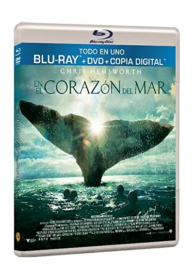 En El Corazón Del Mar (Blu-Ray + Dvd + Copia Digital) (In The Heart Of The Sea)