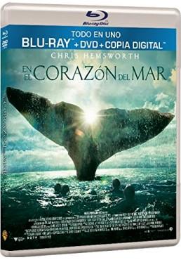 En El Corazón Del Mar (Blu-Ray + Dvd + Copia Digital) (In The Heart Of The Sea)