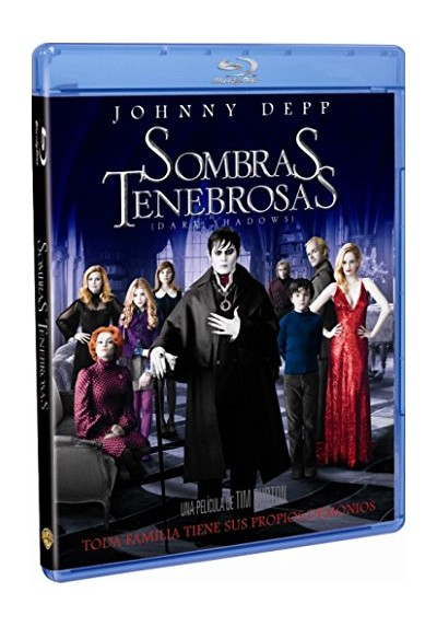 Sombras Tenebrosas (Blu-Ray) (Dark Shadows)