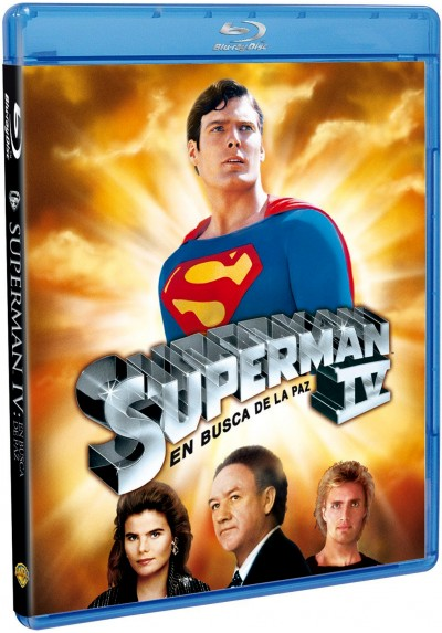 Superman IV: En Busca De La Paz (Blu-Ray) (Superman IV: The Quest For Peace)