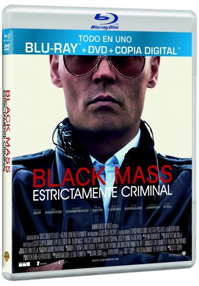 Black Mass (Blu-Ray + Dvd + Copia Digital)