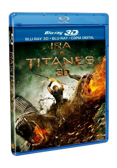 Ira De Titanes (Blu-Ray 3d + Blu-Ray + Copia Digital) (Wrath Of The Titans)