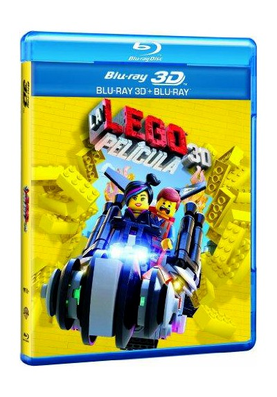 Lego: La Película (Blu-Ray 3d + Blu-Ray + Copia Digital) (The Lego Movie)