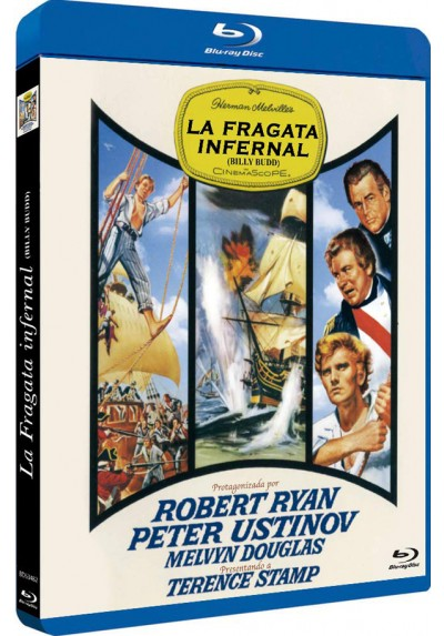 La Fragata Infernal (Blu-Ray) (Bd-R) (Billy Budd)