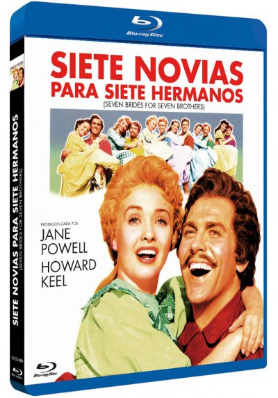 Siete Novias Para Siete Hermanos (Blu-Ray) (Bd-R) (Seven Brides For Seven Brothers)