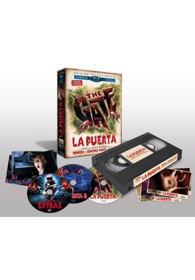 Pack La Puerta + La Puerta II (BD + DVD Extras Edicion Especial Vintage)