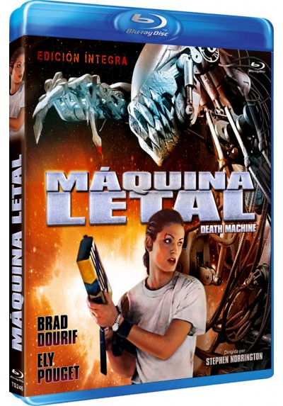 Máquina Letal (Blu-Ray) (Death Machine)