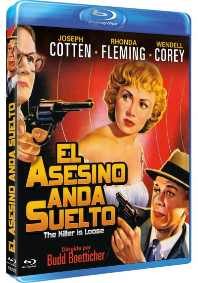 El Asesino Anda Suelto (Blu-Ray) (The Killer Is Loose)