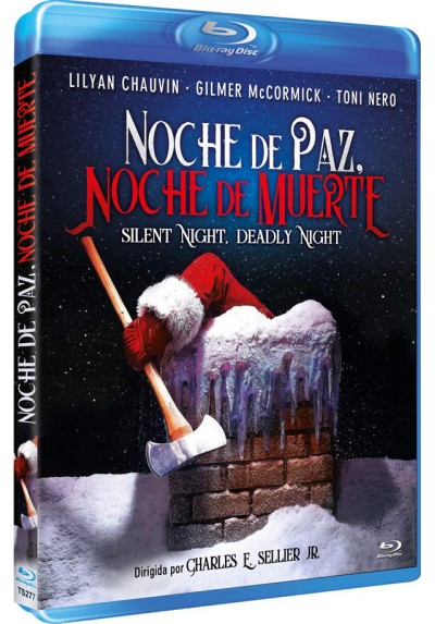 Noche De Paz, Noche De Muerte (Blu-Ray) (Silent Night, Deadly Night)
