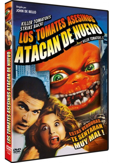 Los Tomates Asesinos Atacan De Nuevo (Killer Tomatoes Strike Back!)