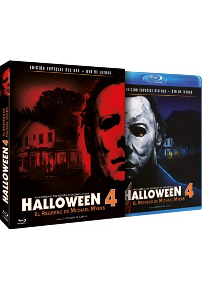 Halloween 4 (Blu-Ray + Dvd Extras)