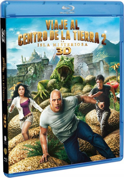 Viaje Al Centro De La Tierra 2: La Isla Misteriosa (Blu-Ray 3d + Blu-Ray) (Journey 2: The Mysterious Island)