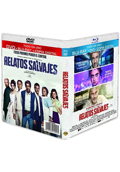 Relatos Salvajes (Blu-Ray + Dvd + Copia Digital)