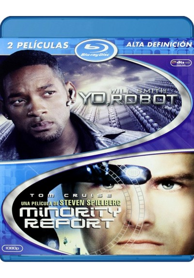 Yo, Robot / Minority Report (Blu-Ray)