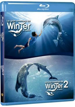 La Gran Aventura De Winter El Delfin 1 Y 2 (Blu-Ray)