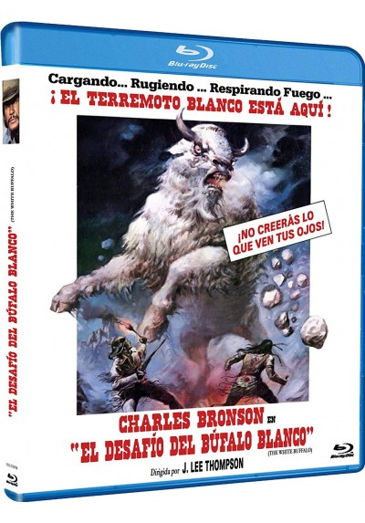 El Desafío Del Búfalo Blanco (Blu-Ray) (Bd-R) (The White Buffalo)