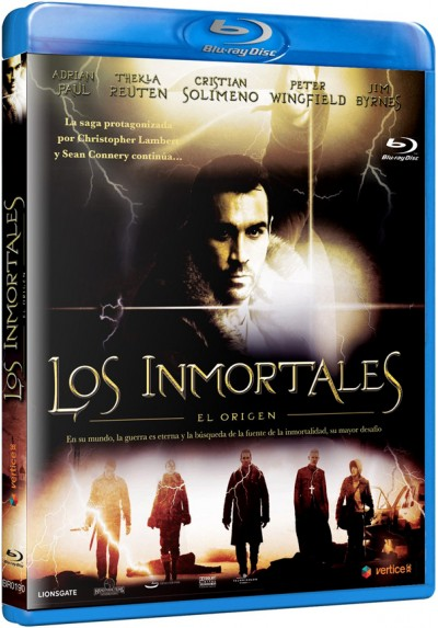 Los Inmortales : El Origen (Blu-Ray) (Bd-R) (Highlander: The Source)