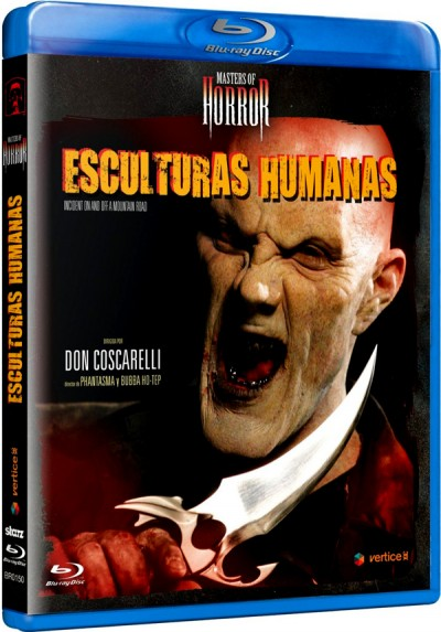 Masters Of Horror - Esculturas Humanas (Blu-Ray) (Bd-R) (Incident On And Off A Mountain Road)