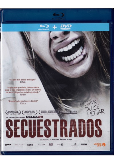 Secuestrados (Blu-Ray + Dvd)