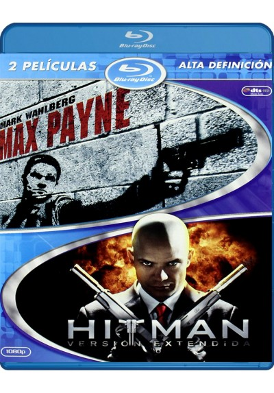 Max Payne / Hitman (Blu-Ray)