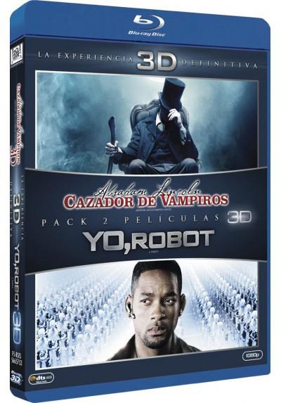 Abraham Lincoln: Cazador De Vampiros / Yo, Robot (Blu-Ray 3d)