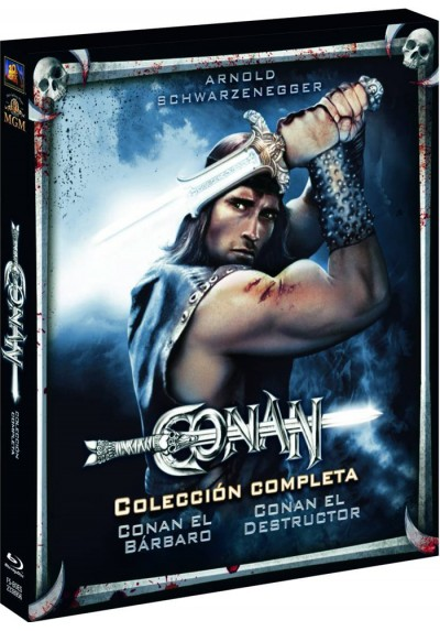 Conan El Bárbaro / Conan El Destructor (Blu-Ray) (Conan The Barbarian / Conan The Destroyer)