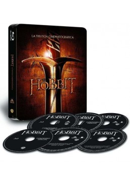 Trilogia El Hobbit (Blu-Ray) (Ed. Metalica)