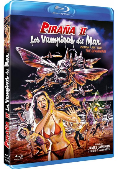 Piraña II: Los Vampiros Del Mar (Blu-Ray) (Piranha Part Two: The Spawning)