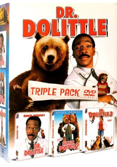 Pack Triple Dr. Dolittle 1-3