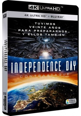 Independence Day: Contraataque (Blu-Ray 4k Ultra Hd + Blu-Ray) (Independence Day: Resurgence)