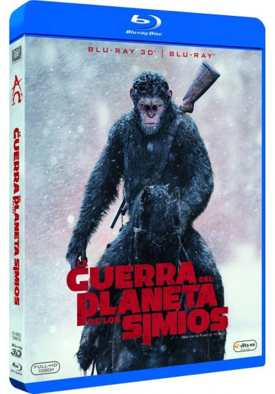 La Guerra Del Planeta De Los Simios (Blu-Ray 3d + Blu-Ray) (War For The Planet Of The Apes)