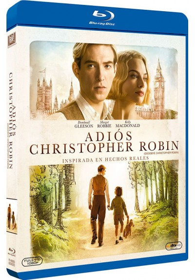 Adiós Christopher Robin (Blu-Ray) (Goodbye Christopher Robin)