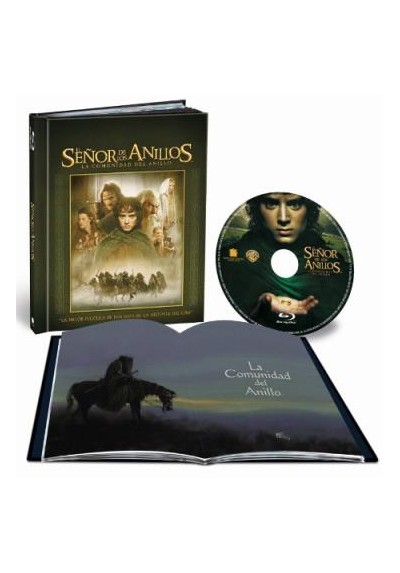 El Señor De Los Anillos : La Comunidad Del Anillo (Blu-Ray) (Ed. Libro) (The Lord Of The Rings: The Fellowship Of The Ring)