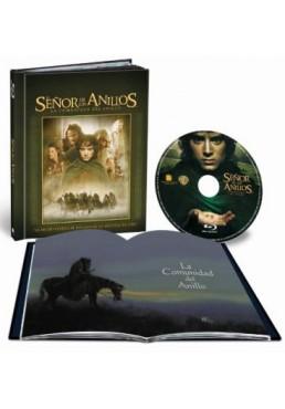 El Señor De Los Anillos : La Comunidad Del Anillo (Blu-Ray) (Ed. Libro) (The Lord Of The Rings: The Fellowship Of The Ring)