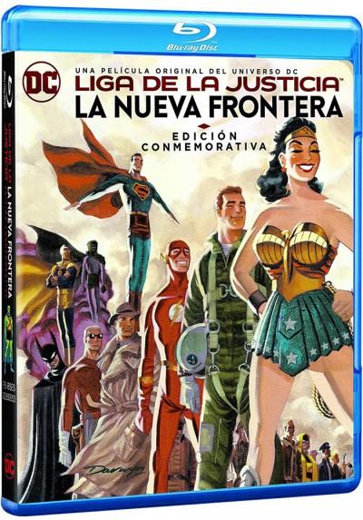 La Liga De La Justicia: La Nueva Frontera (Blu-Ray) (Justice League)
