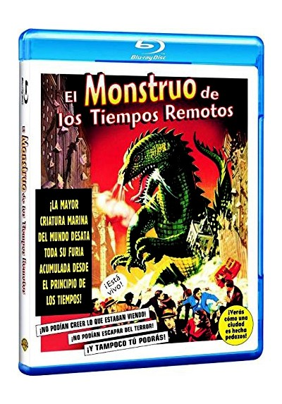 El Monstruo De Tiempos Remotos (Blu-Ray) (The Beast From 20.000 Fathoms)
