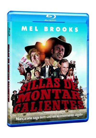 Sillas De Montar Calientes (Blu-Ray) (Blazing Saddles)