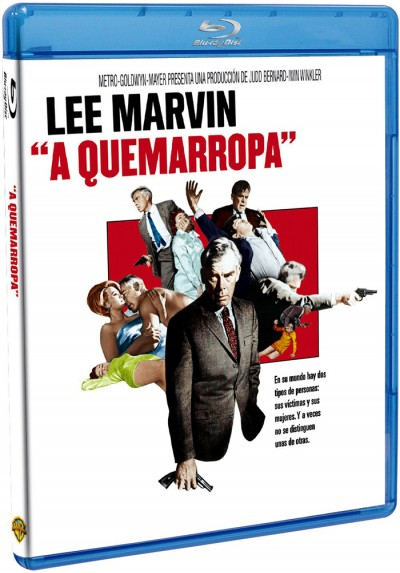 A Quemarropa (Blu-Ray) (Point Blank)