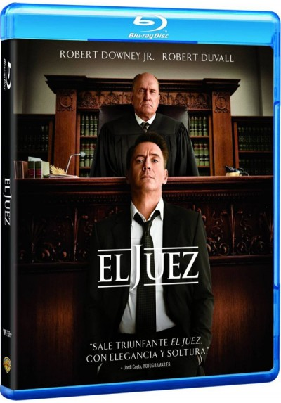 El Juez (Blu-Ray) (The Judge)