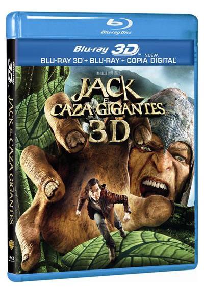 Jack El Caza Gigantes (Blu-Ray 3d + Blu-Ray + Copia Digital) (Jack The Giant Slayer)